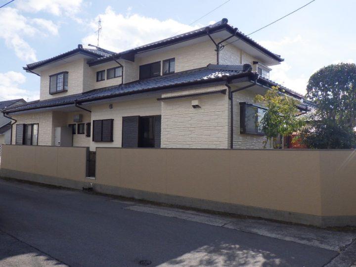 長崎県諫早市 T様邸 屋根外壁塗装工事