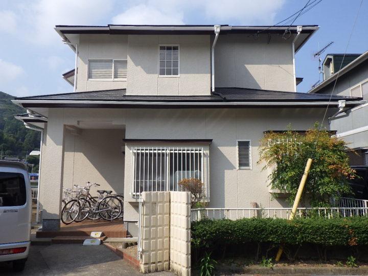 長崎県大村市 外壁塗装+屋根塗装