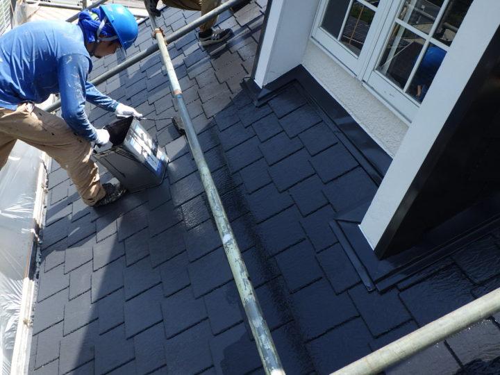 屋根塗装(2回塗り)