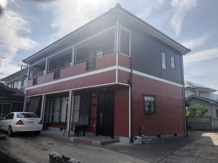長崎県諫早市・大村市 屋根塗装・外壁塗装 田中塗装