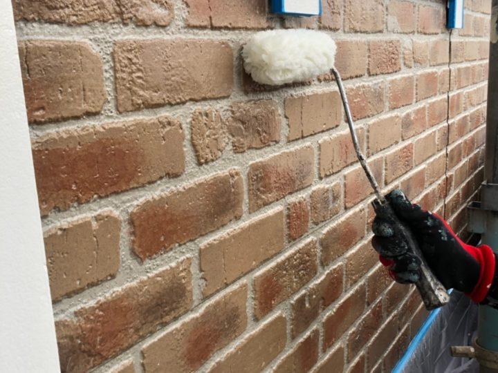 外壁腰壁塗装