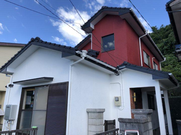 長崎県諫早市多良見町 D様邸 屋根塗装・外壁塗装 田中塗装