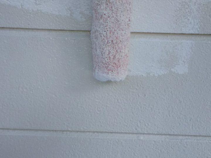 外壁中塗り(二階)