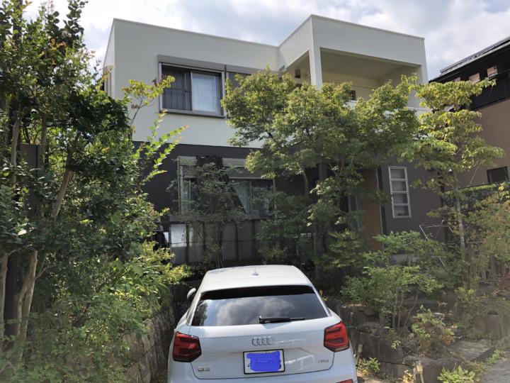長崎県長崎市高城台 N様邸 外壁塗装・屋根塗装(有)田中塗装
