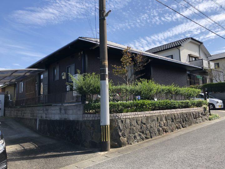 長崎県諫早市久山台 S様邸 外壁塗装(有)田中塗装