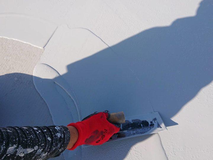 屋上上塗り
