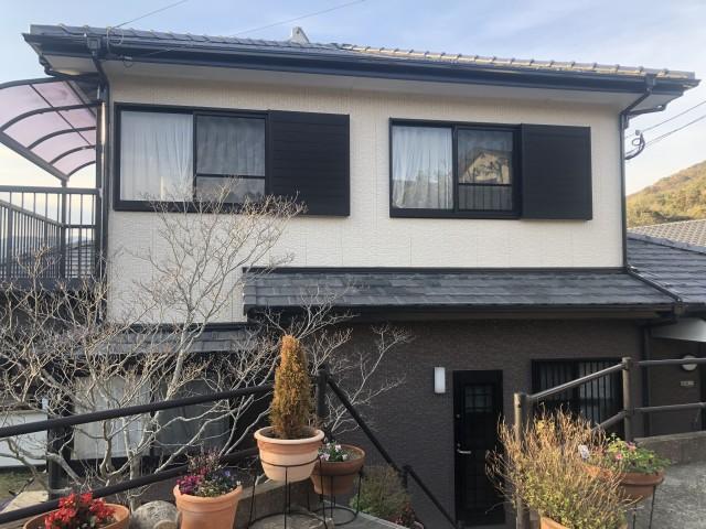 長崎県長崎市東町 H様邸 外壁塗装・屋根塗装(有)田中塗装