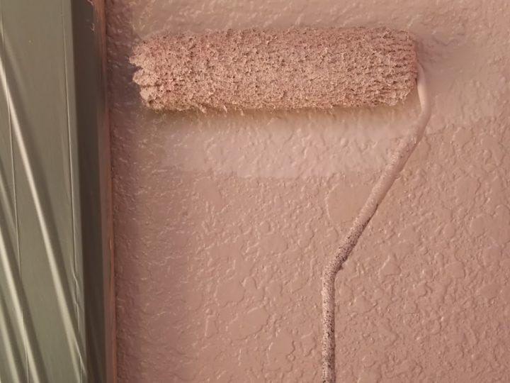 外壁上塗り(一階)