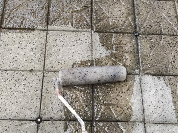 ベランダ床塗装