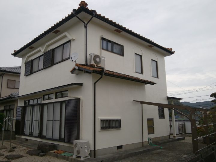 長崎県長崎市つつじヶ丘 K様邸 外壁塗装・屋根塗装 (有)田中塗装