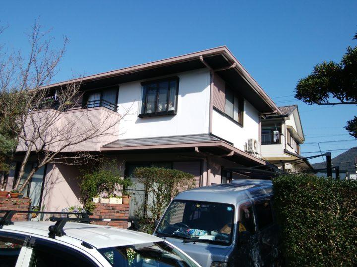 長崎県長崎市かき道 E様邸 外壁塗装・屋根塗装 (有)田中塗装