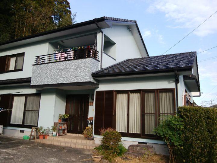 長崎県諫早市下大渡町  S様邸 屋根塗装・外壁塗装(有)田中塗装