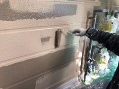 外壁中塗り(1階)
