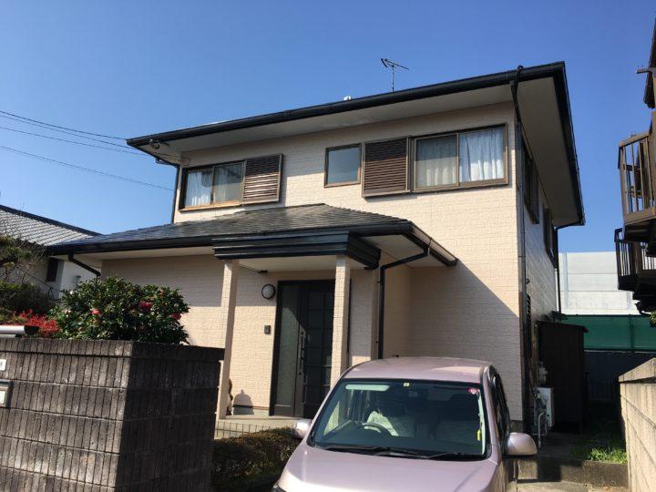 長崎県大村市小路口町 S様邸 屋根塗装・外壁塗装(有)田中塗装