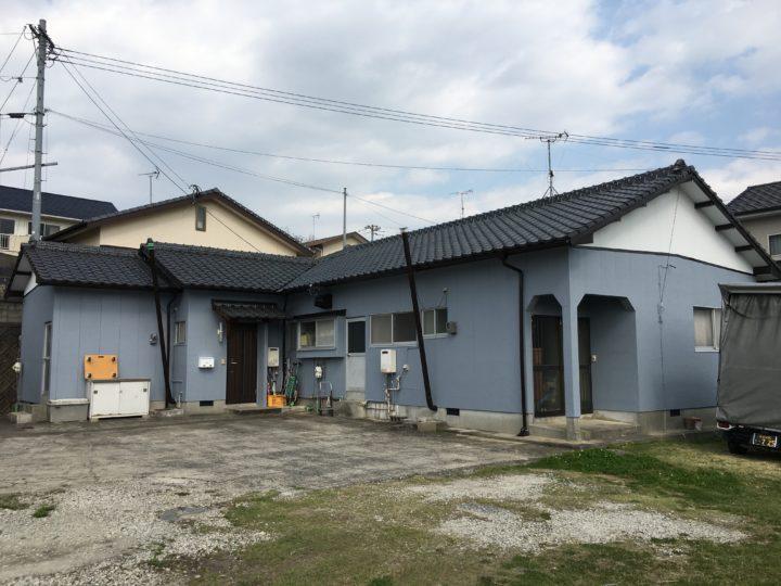 長崎県諫早市平山町 Yアパート 屋根塗装・外壁塗装(有)田中塗装
