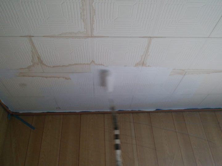 室内天井塗装