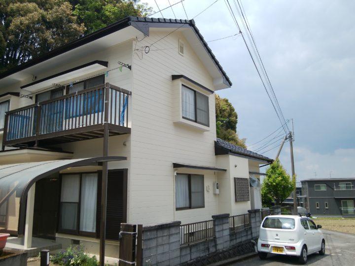長崎県大村市上諏訪 H様邸 屋根塗装・外壁塗装(有)田中塗装