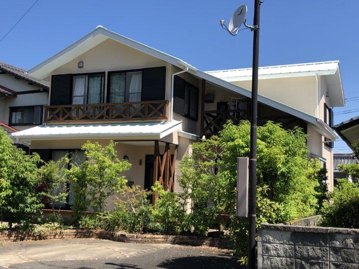長崎県諫早市多良見シーサイド N様邸 屋根塗装・外壁塗装(有)田中塗装