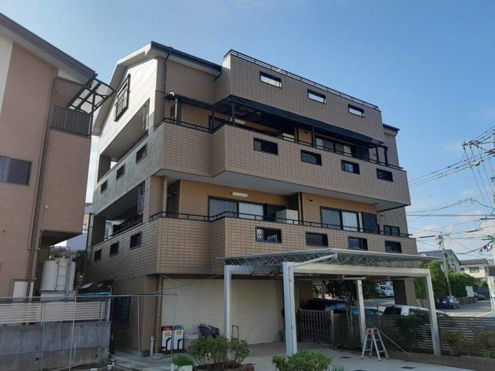長崎県諫早市金谷町 M様邸 屋根塗装・外壁塗装(有)田中塗装