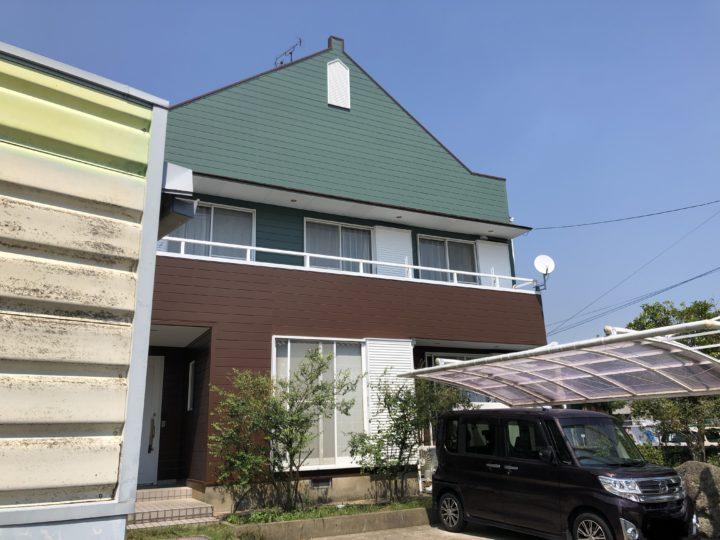 長崎県諫早市小野島町 T様邸 屋根塗装・外壁塗装(有)田中塗装
