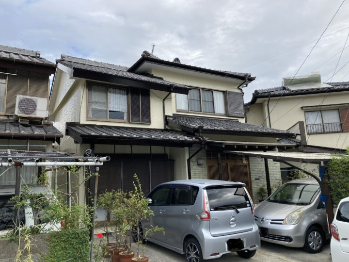 長崎県諫早市西小路町 F様邸 屋根塗装・外壁塗装(有)田中塗装