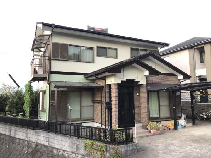 長崎県諫早市長野町 M様邸 屋根塗装・外壁塗装(有)田中塗装