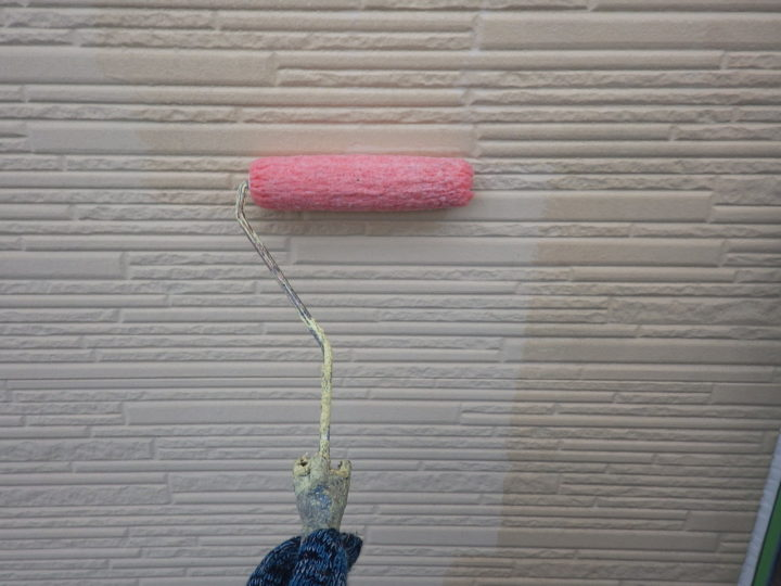 外壁下塗り(2階)