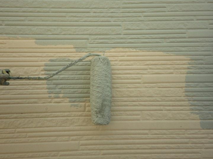 外壁中塗り(2階)