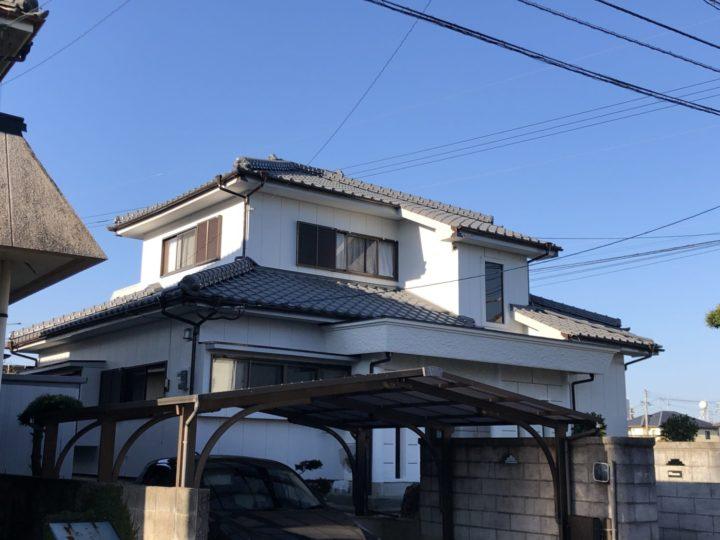 大村市玖島 O様邸 屋根塗装・外壁塗装(有)田中塗装