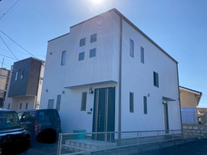 諫早市 アパート 屋根塗装・外壁塗装(有)田中塗装
