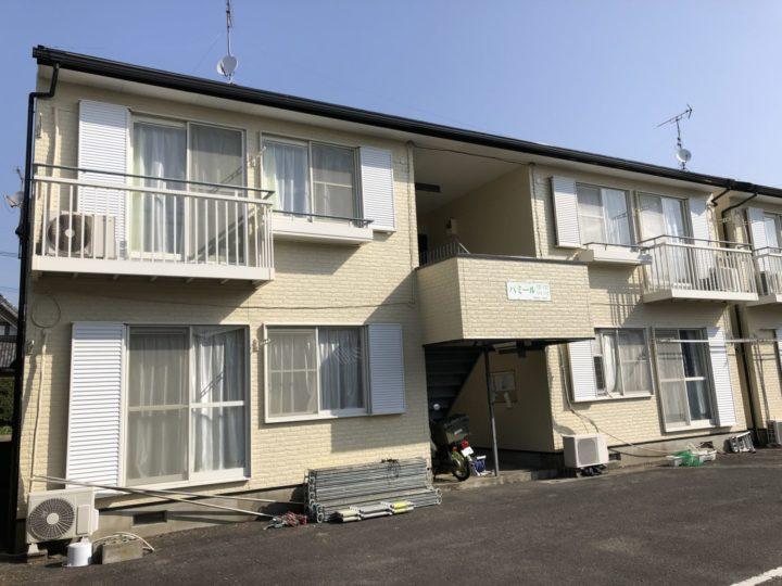 長崎県諫早市立石町 H様邸 アパート 屋根塗装・外壁塗装(有)田中塗装