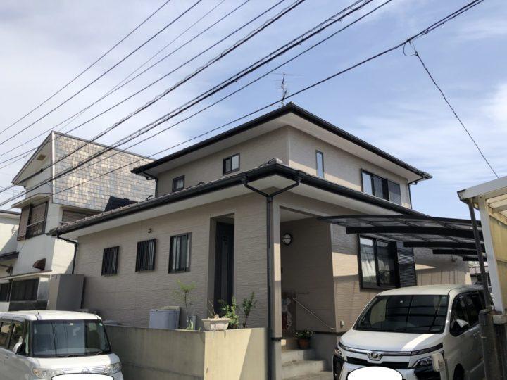 長崎県諫早市中尾町 M様邸 屋根塗装・外壁塗装(有)田中塗装