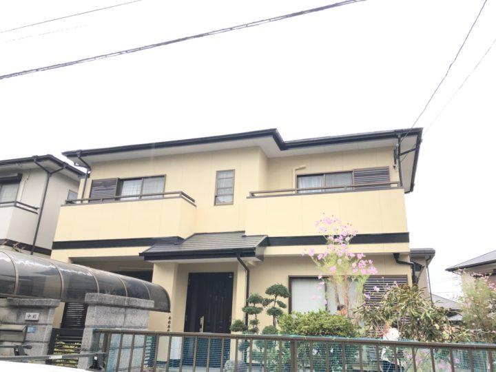 長崎県諌早市久山台 N様邸 屋根塗装・外壁塗装(有)田中塗装